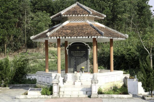 Monument at FSB Birmingham Vietnam