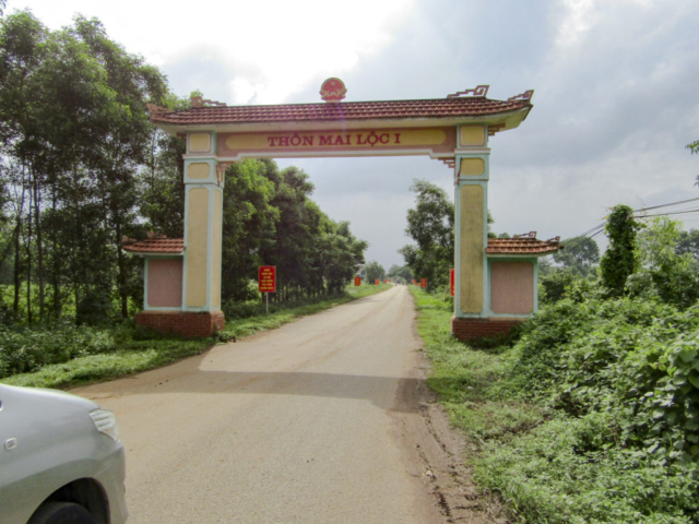 Mai Loc village entrance
